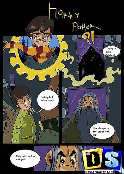 Harry potter fucking the..