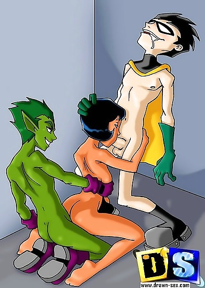 Teen titans and totally..